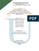 Informe Quimica General Practicas 4,5 y 6