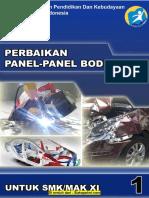 Buku Perbaikan Panel-panel Bodi Kelas XI SMT1