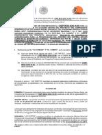 Addendum Convenio de Concertación Quiriego