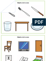 objetos de la casa