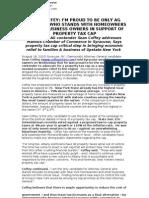 Press Release Syracuse Property Tax - Coffey - 8-18