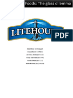 Litehouse Foods - The Glass Dilemma