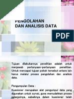 Pengolahan Dan Analisis Data