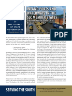 297516492 Inland Ports and Waterways in the SLC Member States