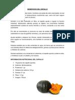 Beneficios Del Zapallo Original