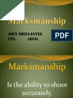 Marksmanship PPT