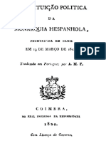 Constituição de Cádiz - Em Português