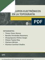 Equipos Electrónicos en La Topografía