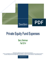 Private Equity Fund Expenses