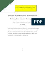 Ammann Tracking Error Variance Decomposition Final