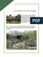 Formal and Informal Garden Design
