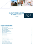 Bajaj Finance Investor Presentation