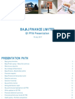 Bajaj Finance Investor Presentation