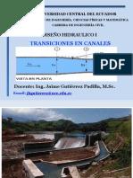 Transiciones en Canales Flujo Subcritico