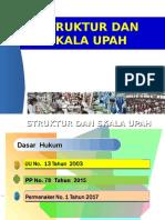 1. Kemnaker - Struktur dan Skala Upah.ppt