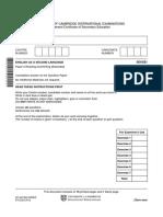 ENGLISH PAPER SL IGCSE.pdf