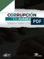 Informe Corrupcion en Ciudad Juarez, Chihuahua 2017