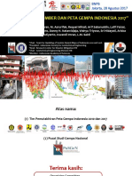 Pemutahiran Sumber Dan Peta Gempa Indonesia