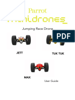 Jumping Race Drone User Guide UK