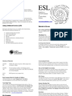 ESL Resources Brochure Fall 2010