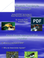 Applying remote sensing to avian research.ppt