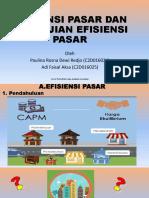 Presentasi Efisien Pasar Dan Pengujian Efisiensi Pasar - Copy