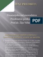 Predavanje Osnivacki Kapital Stalna Sredstva Zalihe II Dio