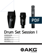AKG DrumSetSessionI Manual