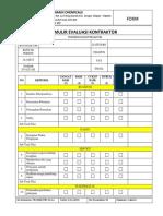 11-Formulir Evaluasi Kontraktor