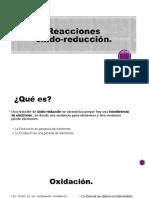 Reacciones oxido-reduccion