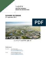 EuropaCity 2.0 - Un Nouveau Projet Inscrit Dans Le Futur Quartier Du Triangle de Gonesse