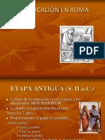 La Educación en Roma