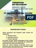 Presentasi Proyek Pltbm Tayan 10 Mw