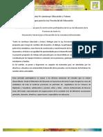 Documento General Reunion Escuela Abierta