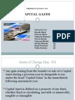 Tax - Capital Gain
