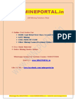 CIL MT Sample Paper 2012