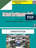 13 Actual Earthquake Drill