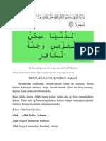 MENGAPA KAUM MUSLIMIN KALAH.docx