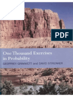 Geoffrey Grimmett, David Stirzaker One Thousand Exercises In Probability [Solution Manual of Probability and Random Processes].pdf