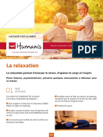 Activite Sante Exercices Relaxation Fiche