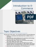 (1) Intro to E-Commerce