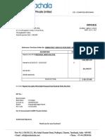 Invoice SAF-1718-018 JBM June 2017