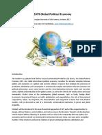 Syllabus EDS379 Global Political Economy