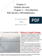 Chapter 4 Windows Security 26 Mar2017