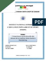 Importancia Da Dança Tradicional No Ambito Educacional Senegal