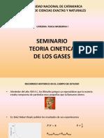 Seminario Teoria Cinetica de Los Gases