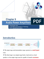 EC Lec09 Power Amplifier
