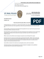 St Paul Officer Involved Shooting