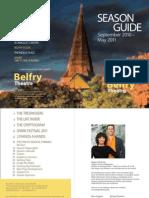 Belfry Theatre Season Guide 2010 - 2011