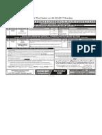 PPSC  Advt 52-2017 - 22-09-2017